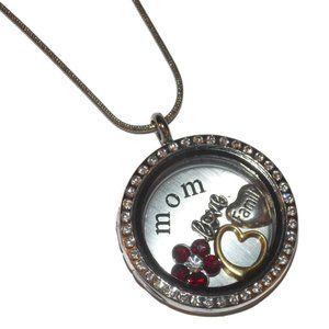 Jewelry - Mothers Day Floating Locket Necklace Gift Custom